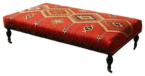 large kilim ottoman 3