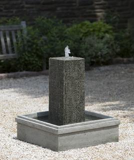 Reef point square garden fountain garden water features for Garden fountains portland oregon