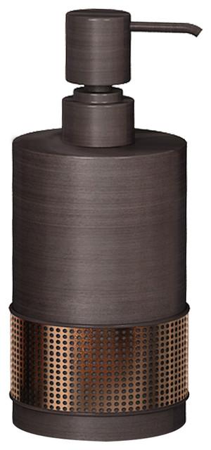 Selma Soap Pump Oil Rubbed Bronze Contemporary Soap
