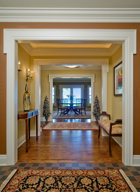 Colonial renovation foyer traditional milwaukee by for Colonial foyer ideas