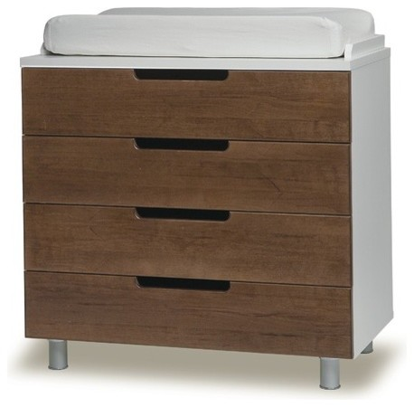 4 Drawer Changing Table Modern Changing Tables By AllModern