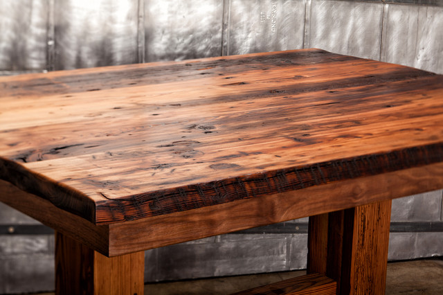 cypress table traditional dining tables kansas city by remodel moore llc. Black Bedroom Furniture Sets. Home Design Ideas