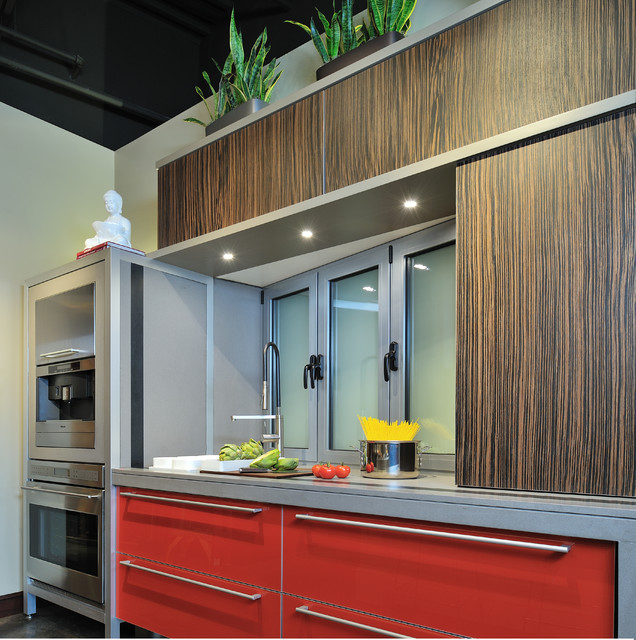 Bentwood Of Houston Showroom Contemporary Kitchen Houston By Bentwood Of Houston