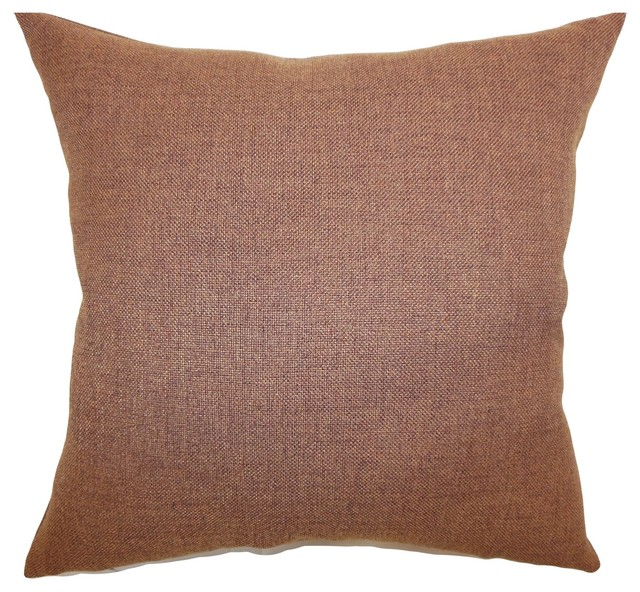 Thaliard Plain Pillow Brown 18