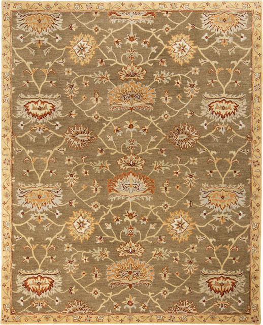 Surya Kensington KEN 1039 Beige Rug Farmhouse Area Rugs by PlushRugs