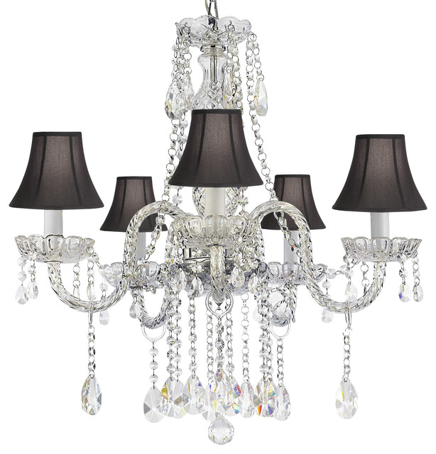 Authentic all crystal empress crystal chandelier traditional chandeliers by gallery - Traditional crystal chandeliers ...