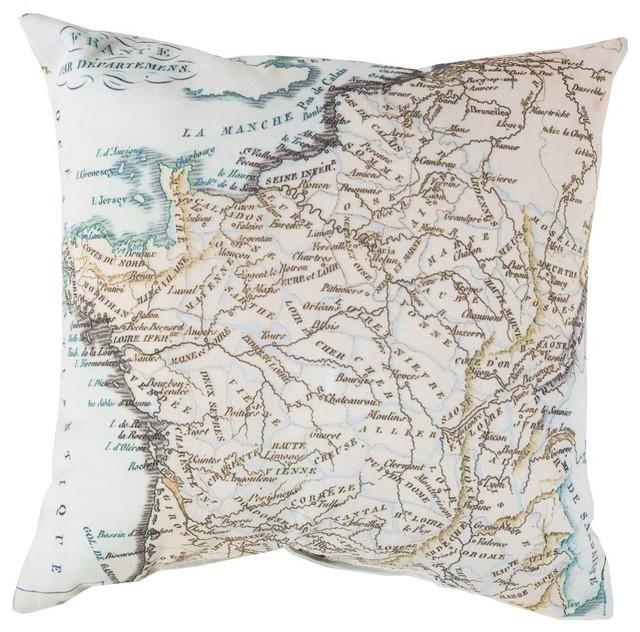 Decorative Pillows Neutral : Contemporary Rain Square Green-Neutral Decorative Pillow - Contemporary - Decorative Pillows ...