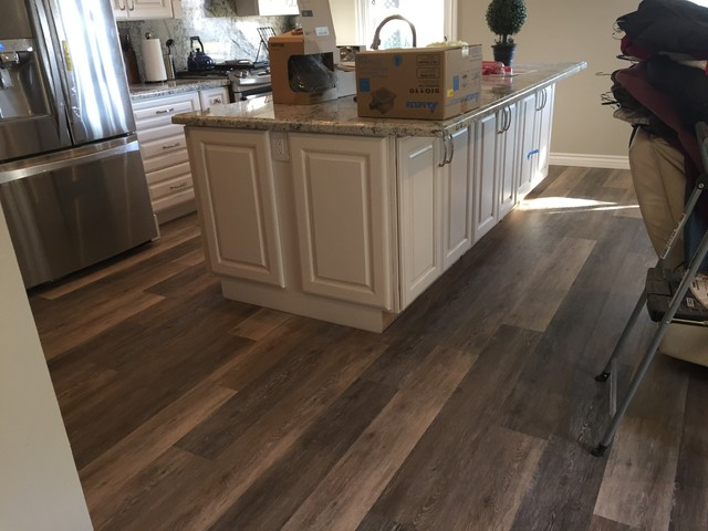 Coretec Plus Blackstone Oak Rustic Vinyl Flooring