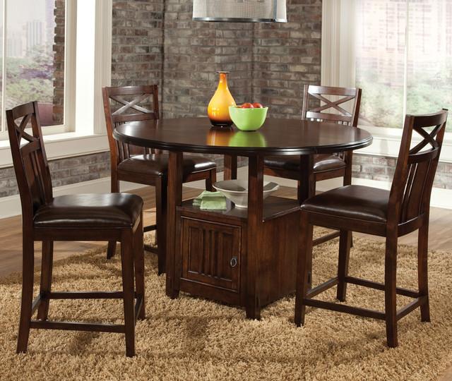 Standard Furniture Dining Room Sets: Standard Furniture Sonoma 5 Piece Counter Dining Room Set