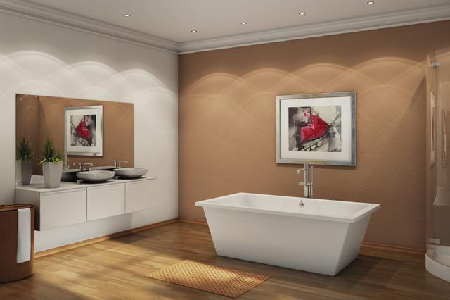 Tub moderno vasche da bagno los angeles di mission - Vasche da bagno moderne ...