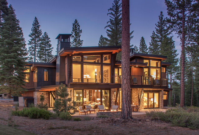 Tahoe contemporary contemporary sacramento by kelly for Tahoe architects
