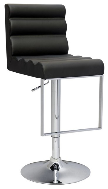 Swivel Stool With Roll Back Contemporary Bar Stools