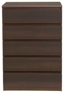 Scottsdale 5 Drawer Chest - Contemporary - Dressers - by Tvilum