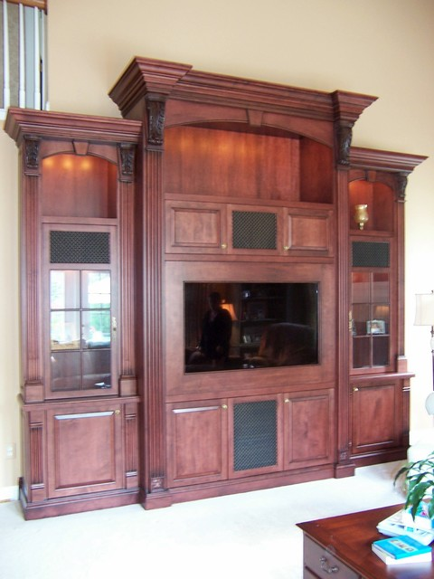 Entertainment Centers Traditional Family Room Other