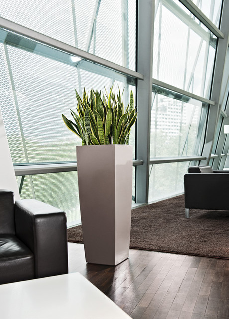 Modern Planter Home Decor toronto by indoorimages