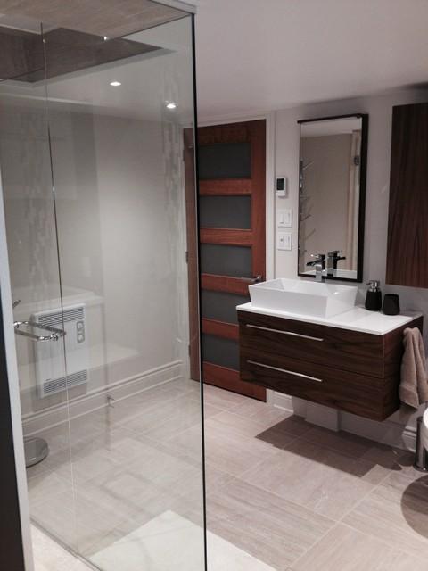 Salle de bain / douche - montreal - par Deco Drain inc.