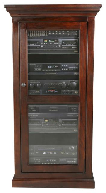 Eagle Furniture Coastal Audio Tower Caribbean Rum