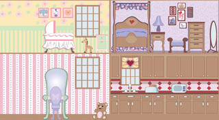 Dollhouse - Wall 1 Wall Mural - Contemporary - Wallpaper - by Murals ...