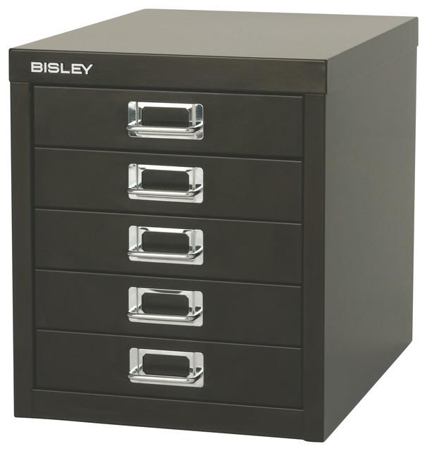 bisley 5 drawer steel desktop multidrawer storage cabinet
