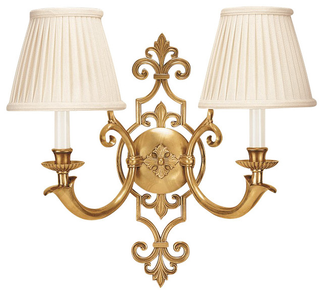 Decorative Crafts Brass Sconce, 5116 - Traditional - Wall Lighting - by HTC Stores