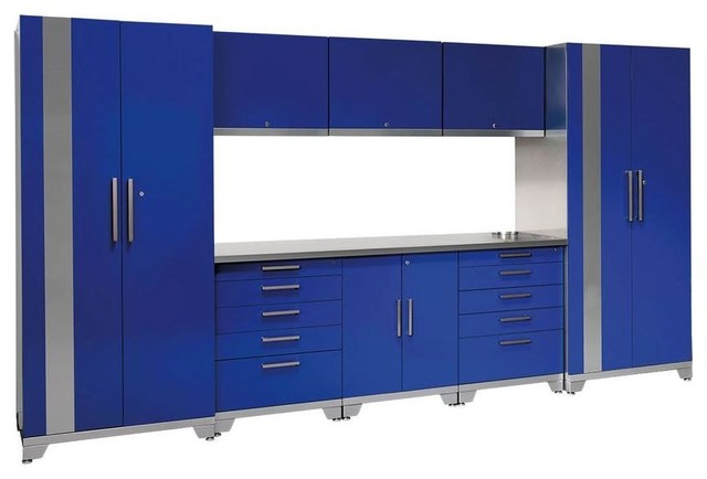 ... NewAge Products Garage Cabinets contemporary-garage-and-tool-storage