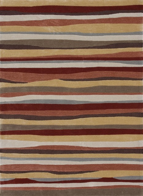 Loloi Rugs Grant Spice Modern Contemporary Hand Tufted