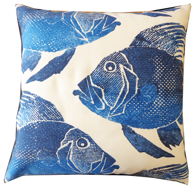 Poisson Pillow Outdoor Cushions And Pillows san