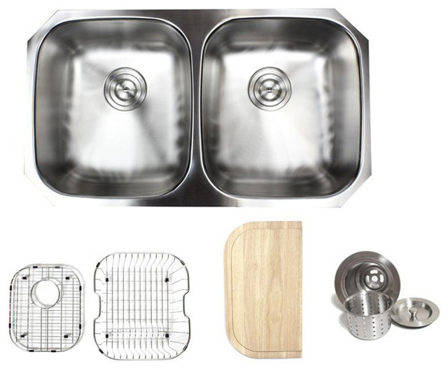 Kitchen Sink Attachments : ... Kitchen Sink & Accessories - Traditional - Kitchen Sinks - by eModern
