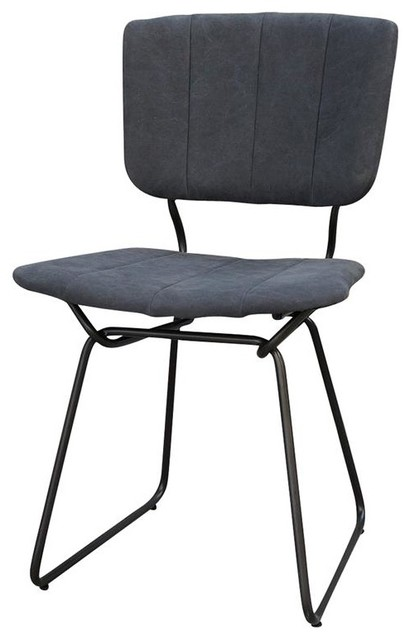 Dining Chair Black Canvas Contemporary Dining Chairs By Autumn Elle Design