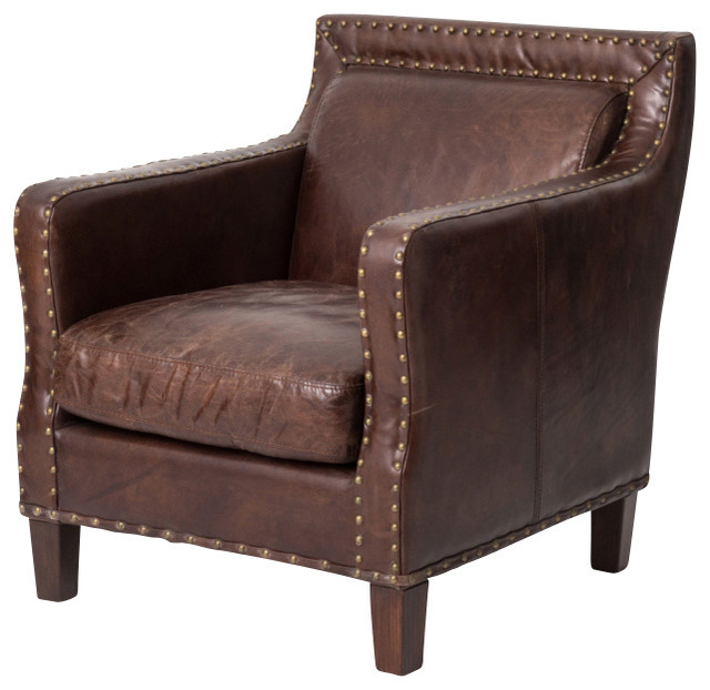 Audrey Club Chair Cigar Armchairs And Accent Chairs