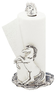 Horse Paper Towel Holder - Traditional - Kitchen Products - by Arthur ...