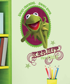 Kermit The Frog Peel Amp Stick Decal Set Contemporary