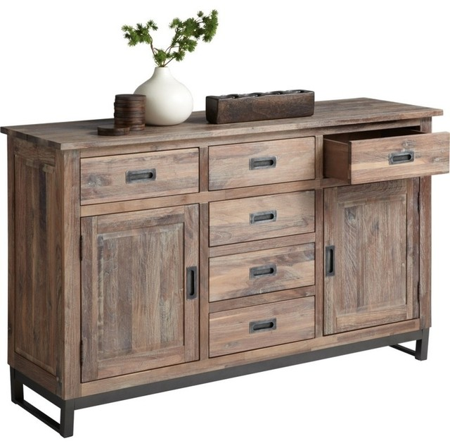 Porto Sideboard Transitional Buffets And Sideboards