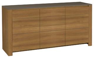 sha teck buffet 3 portes coloris teck moderne buffet et bahut par alin a mobilier d co. Black Bedroom Furniture Sets. Home Design Ideas