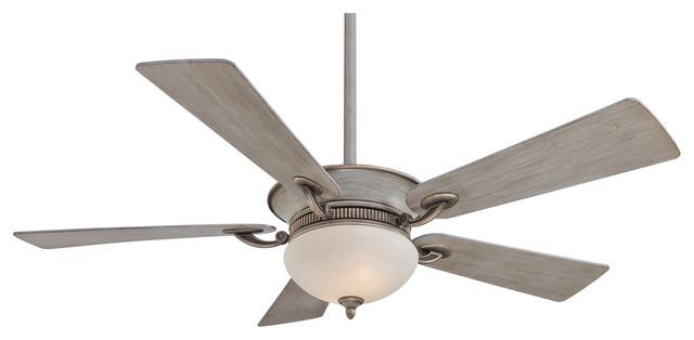 Minka aire f701 drf delano driftwood 52 ceiling fan for Farmhouse ceiling fan
