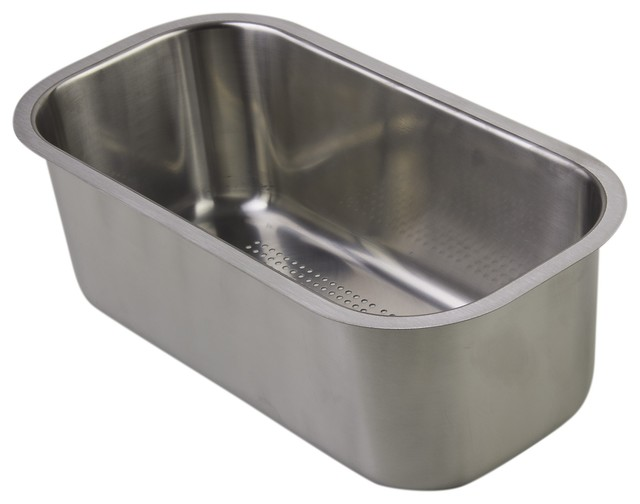 Stainless Steel Sink Inserts : ... Stainless Steel Colander Insert contemporary-kitchen-sink-accessories