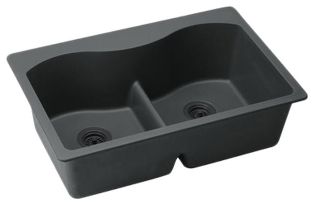 Elkay Elglb3322bk0 Harmony E Granite Sink Modern