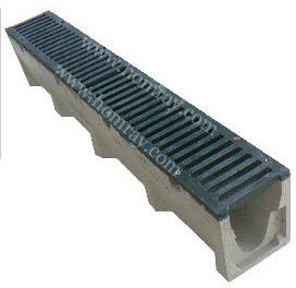 V Shape Polymer Concrete Gap Linear Drainage Channel