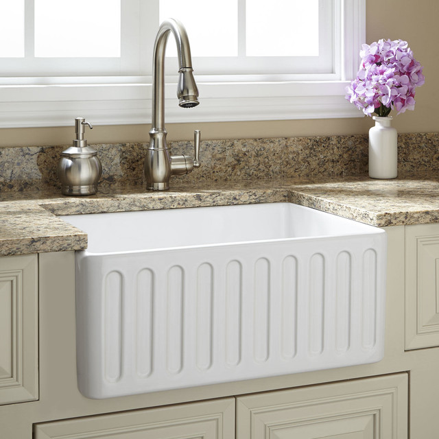 24 Inch Farmhouse Sink : 24