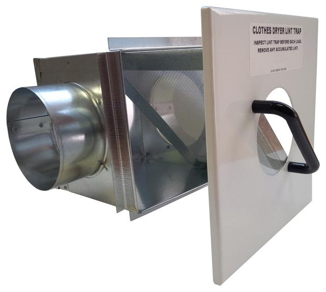 Lint Trap For 4 Quot Dryer Duct Modern Registers Grilles