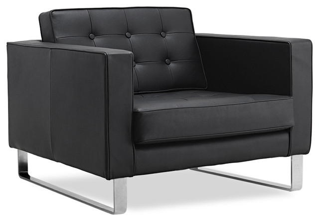 black leather easy chair sliders modern armchairs and accent chairs