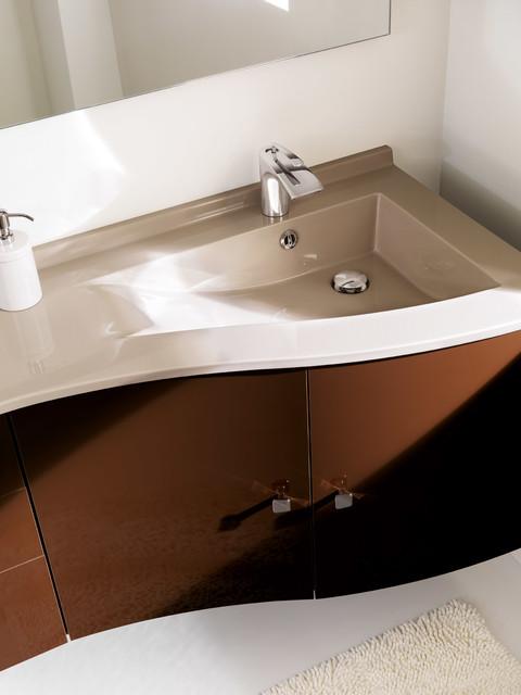 Vanity Side Splash : Delta by ambiance bain modern vanity tops and side