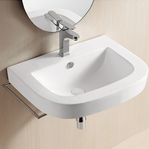 Sink Attached To Wall : Nameeks Caracalla Wall-Mounted Sink CA40054 modern-bathroom-sinks