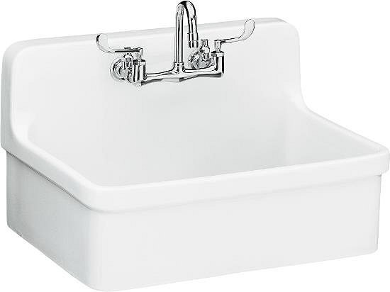 kohler gilford sink r tro bac laver par vintage tub bath. Black Bedroom Furniture Sets. Home Design Ideas