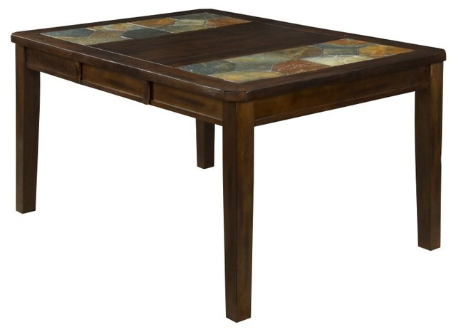 Dining Table With Slate Top 1273DC Contemporary Dining Tables