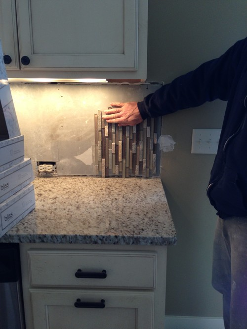 Vertical Or Horizontal Backsplash