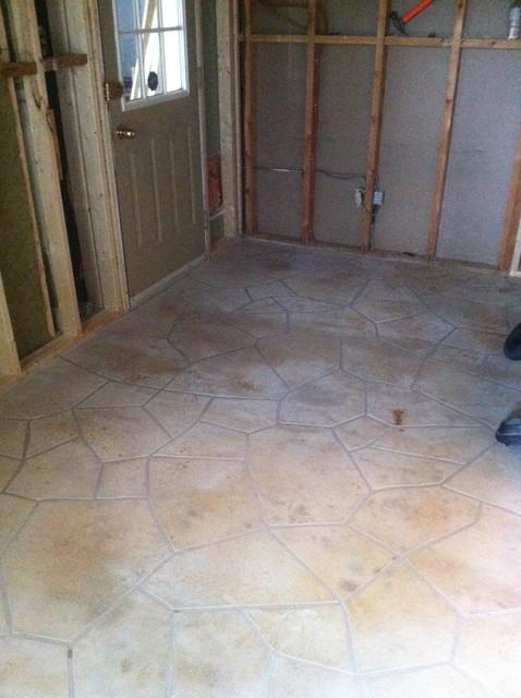 decorative concrete exterior flooring