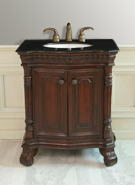 Antique style bathroom vanities traditional bathroom vanities and sink consoles by for Bathroom vanities vintage style