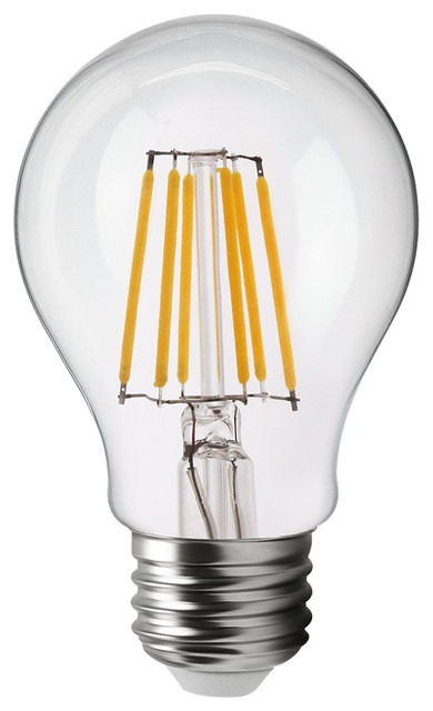 vintage style 7w a19 light bulb 2700k soft white filament. Black Bedroom Furniture Sets. Home Design Ideas