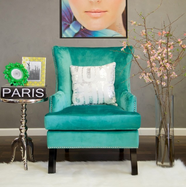 Chair shabby chic style armchairs and accent chairs by zin home